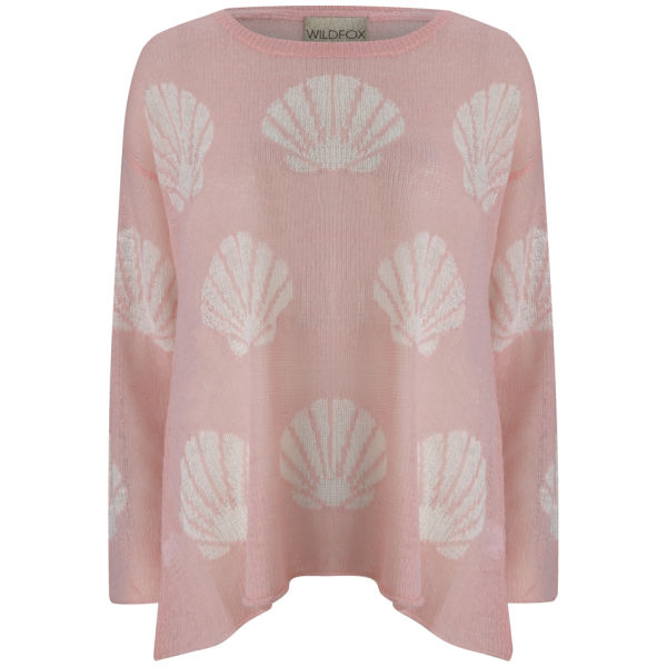 Wildfox Women's Shell Baby Jumper - Pink