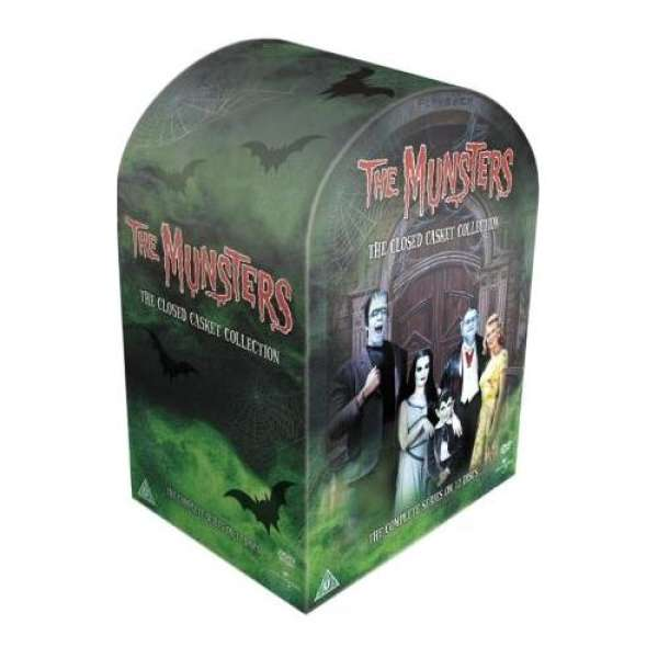 The Munsters Closed Casket Collection 12dvd Dvd