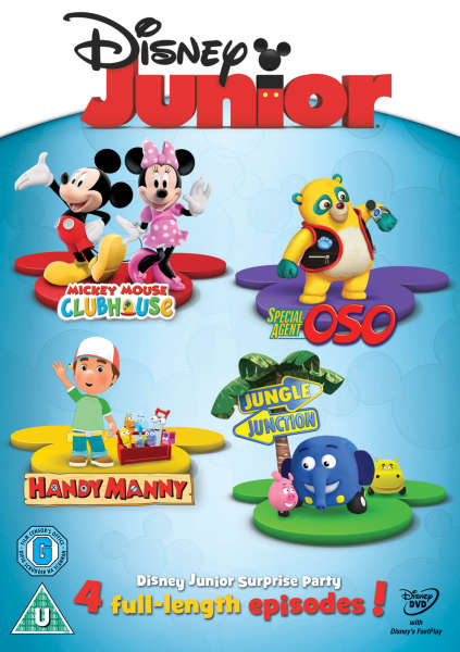 Disney Junior Surprise Party