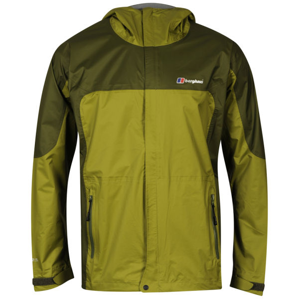 Berghaus Men's Ridgeway Shell Waterproof Jacket - Green Sports ...