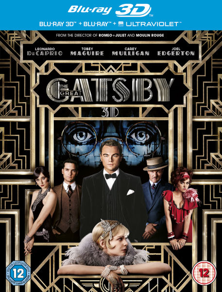 The Great Gatsby 3D (Includes 2D Version and UltraViolet Copy)