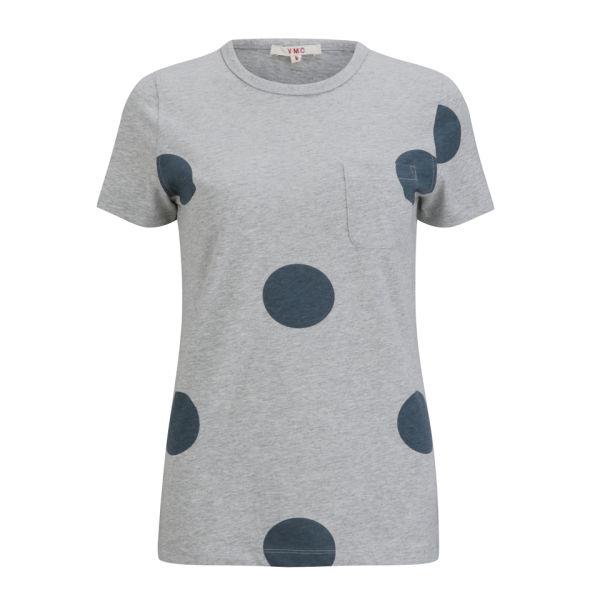 YMC Women's Spot T-Shirt - Navy