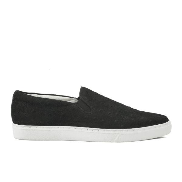 Senso Women S Dylan Ii Ostrich Skater Shoes Black Image 1