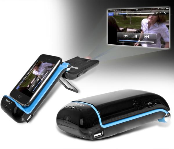 Mili iphone projector iwoot for Apple iphone projector
