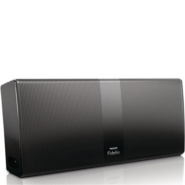 Philips Bluetooth Speaker Portable: Philips Fidelio P8BLK/10 Wireless Bluetooth Portable Speaker - Grade A Refurb