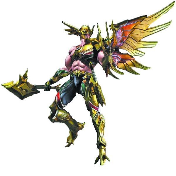 DC Comics Variant Play Arts Kai Hawkman Action Figure (C: 1-1-2)
