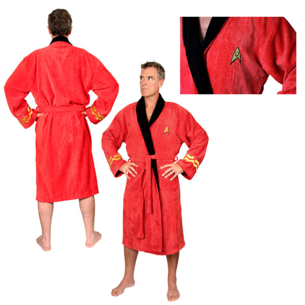 Star Trek Scotty Adult Towelling Robe (One Size) | IWOOT