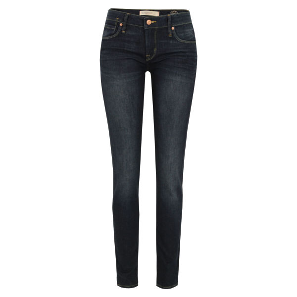 Marc by Marc Jacobs Women's 924 Gaia Super Skinny Helen Wash Jeans - Dark Wash