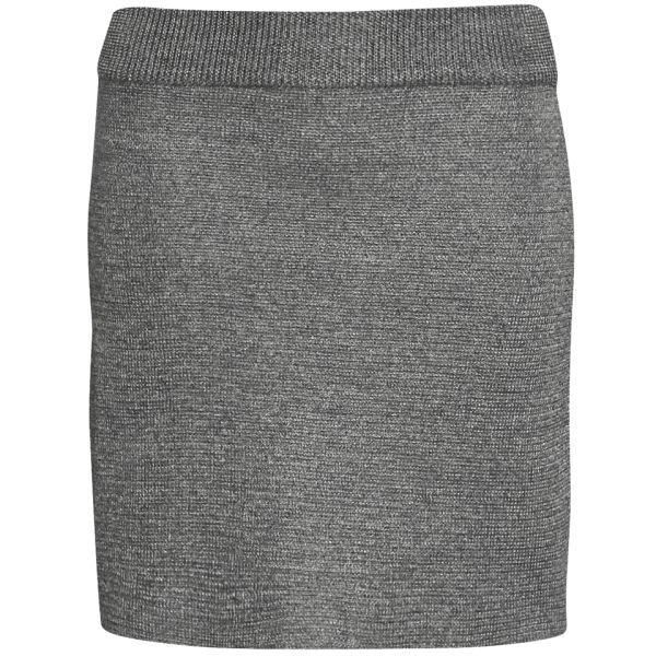 A.P.C. Women's Milano Skirt - Indigo