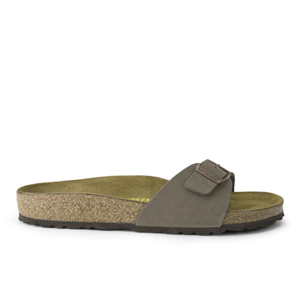 Birkenstock Women's Madrid Single Strap Leather Sandals - Mocca