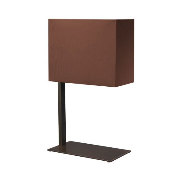 Philips Wall Lamp Shades : Philips Eseo Cano Table Lamp with Shade - Brown IWOOT