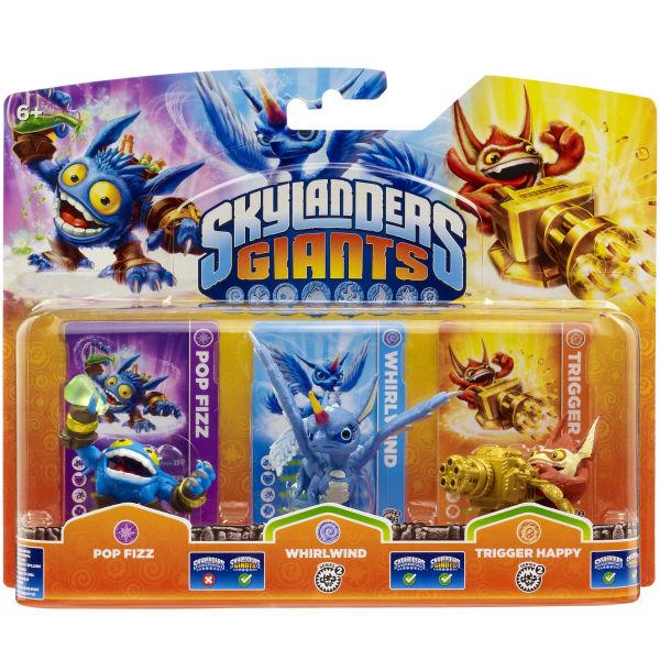 Skylanders Giants Triple Pack A Includes Pop Fizz