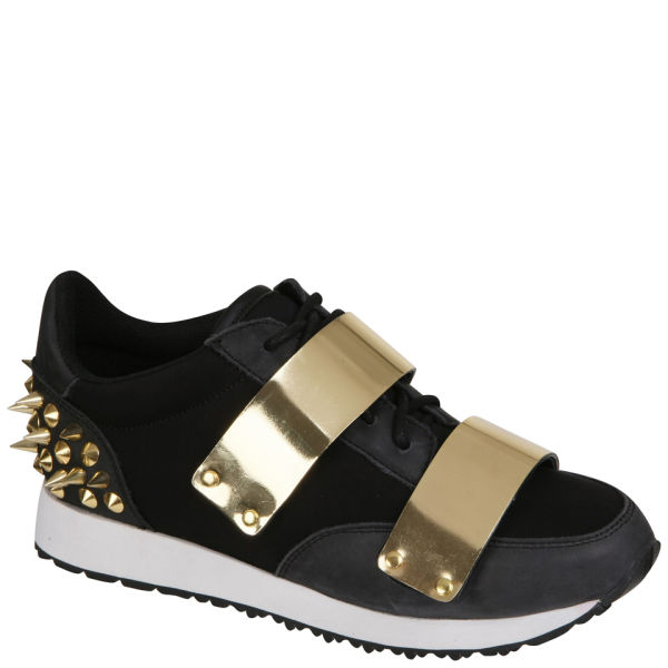 Jeffrey Campbell Women's Jazzed Up Studded Trainers - Black