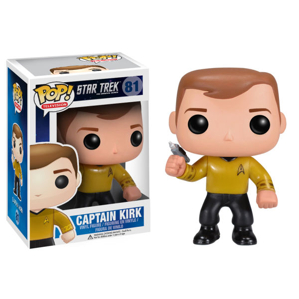 Star Trek Kirk Pop! Vinyl Figure