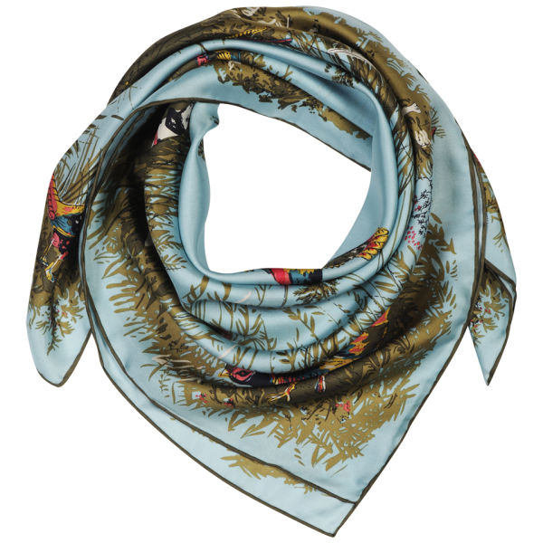 Joules Bloomfield Scarf - Atlantic Blue