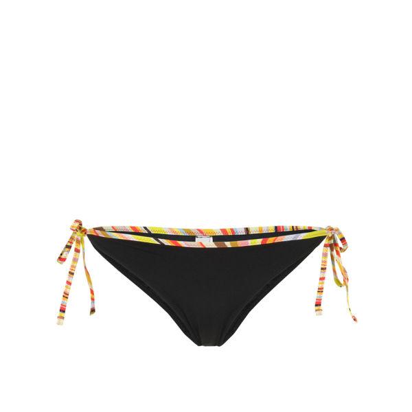 Paul by Paul Smith Women's 2860-U270 Low Rise Bikini Bottoms - Black