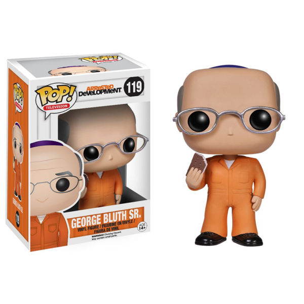 Arrested Development George Sr. Prison Outfit Pop! Vinyl Figure