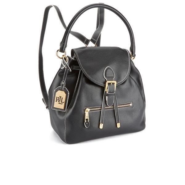 5b9b0da67f Lauren Ralph Lauren Women s Crawley Backpack - Black Vanilla  Image 2