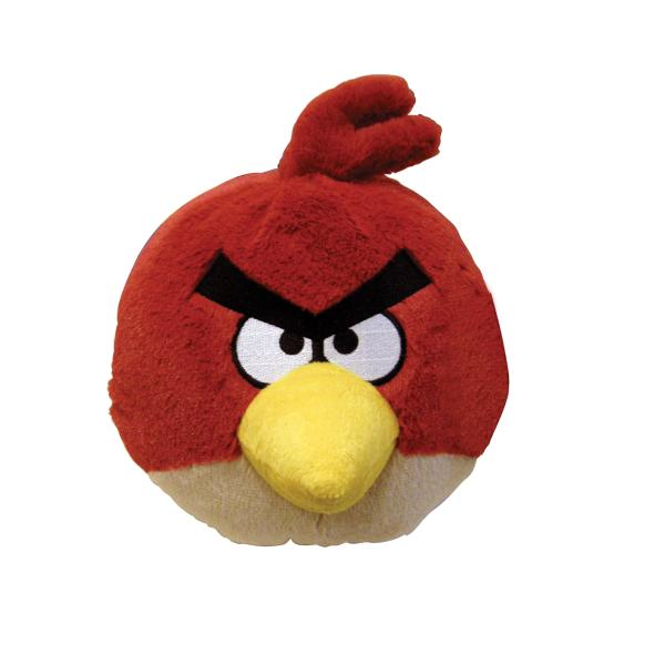 Angry Birds Toys With Sound : Angry birds inch plush red bird with sound iwoot