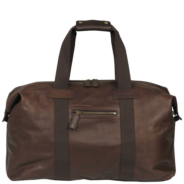 Tommy Hilfiger Men S Max Ii Leather Small Duffle Bag