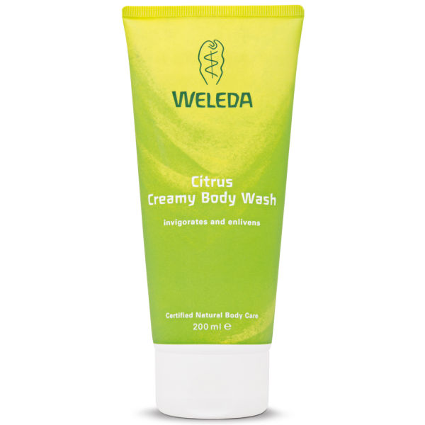 Weleda Citrus Creamy Body Wash (200ml)