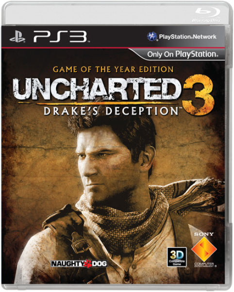 Playstation 3 Ps3 Game : Uncharted game of the year edition ps zavvi