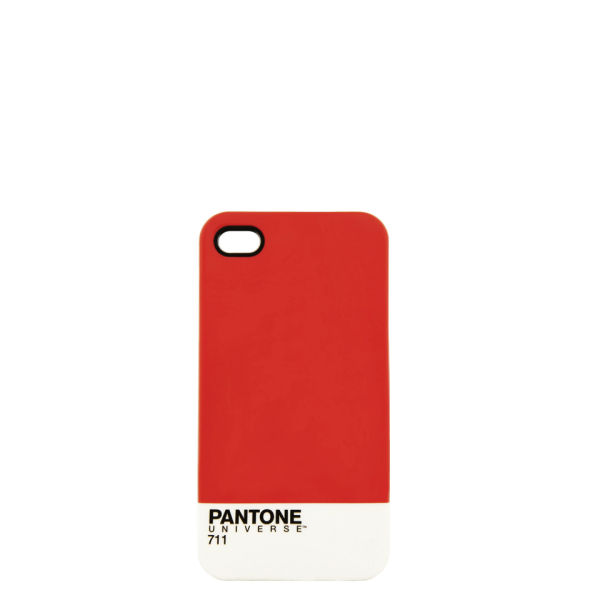Pantone Women's iPhone 4 Case - Red