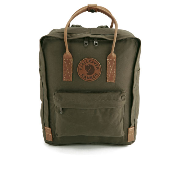 Fjallraven Men's Kanken  No.2 Backpack - Dark Olive
