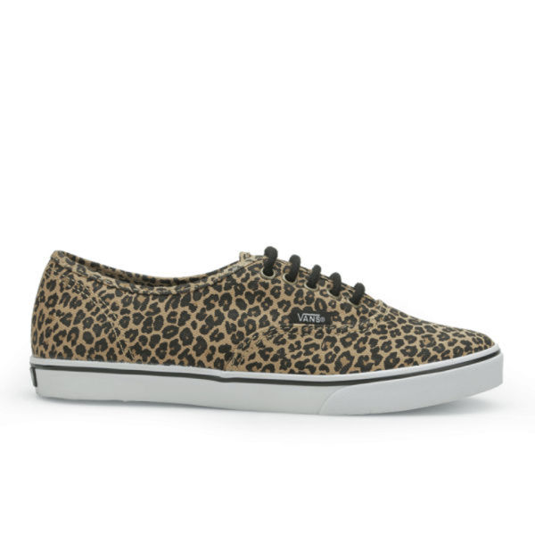 Vans Women's Authentic Lo Pro Leopard Trainers - Leopard