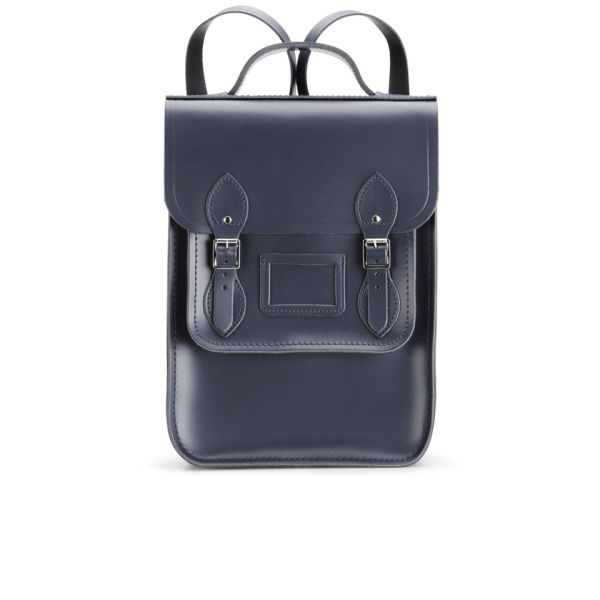 The Cambridge Satchel Company Portrait Leather Backpack - Navy