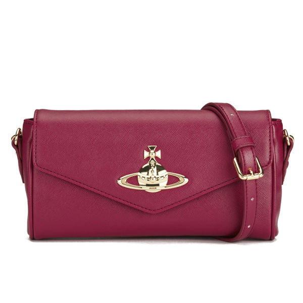 Vivienne Westwood Anglomania Women's Divina Clutch Bag - Rosso