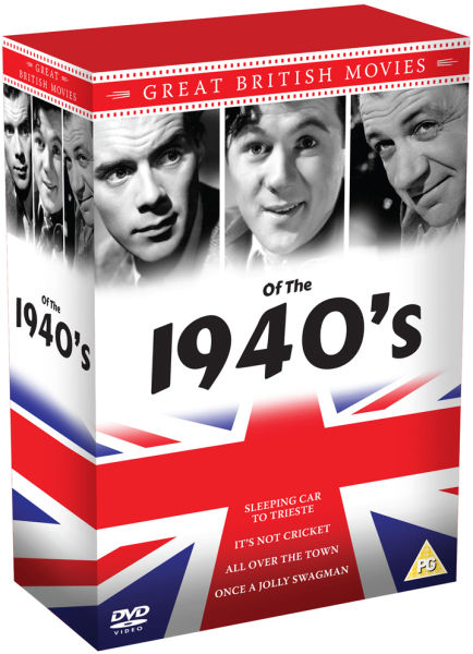 1940's Great British Movies Box Set: Dirk Bogarde, James Hayter and Sid James