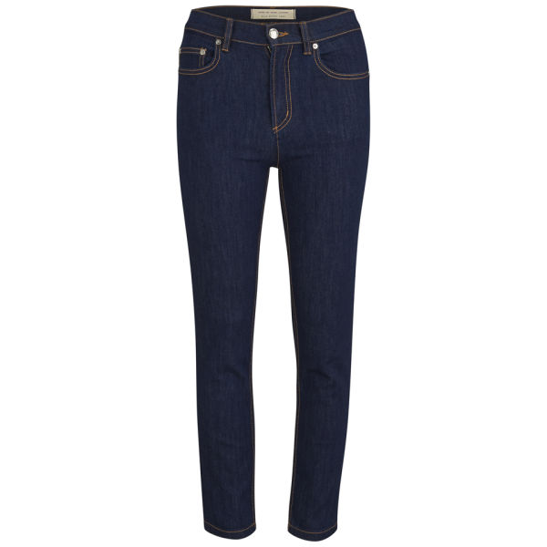 Marc by Marc Jacobs Women's Ella Skinny Crop Jeans - Indigo