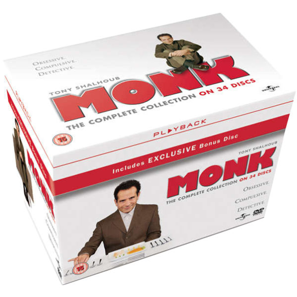 Monk - The Complete Collection