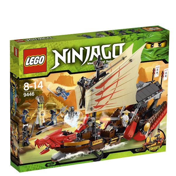 Lego ninjago destiny 39 s bounty 9446 toys zavvi - Photo lego ninjago ...
