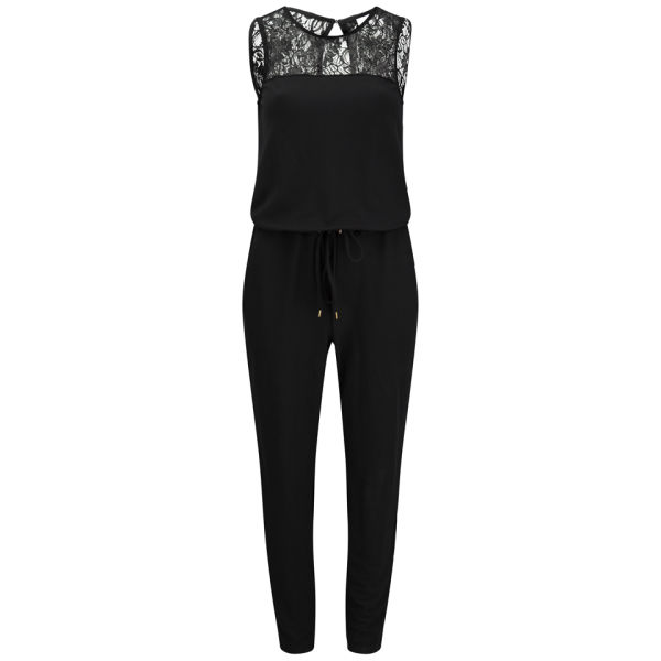vero moda women 39 s ziga jumpsuit black womens clothing. Black Bedroom Furniture Sets. Home Design Ideas