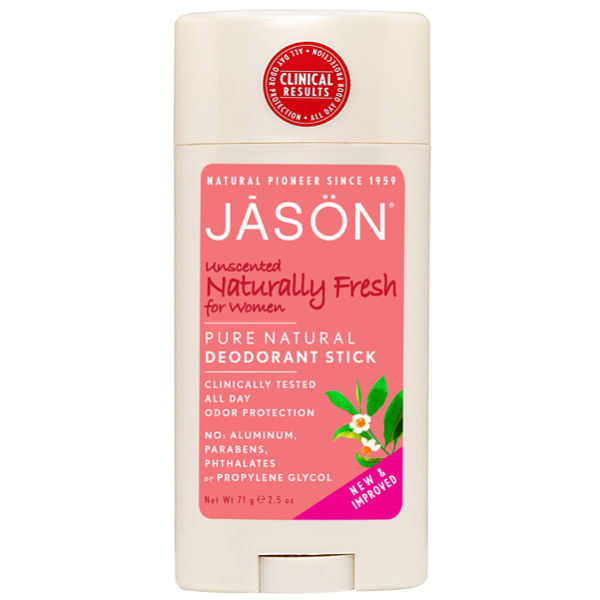 JASON Naturally Fresh Unscented Stick For Women (3oz)