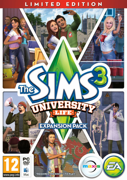 The Sims 3: University Life (Limited Edition)