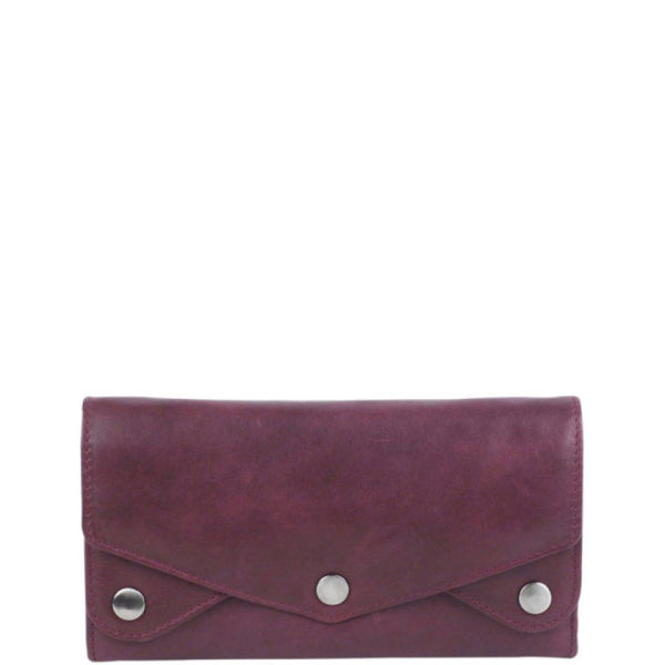 Markberg Marga Leather Purse - Burgundy