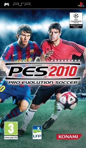 psp games pes 2010