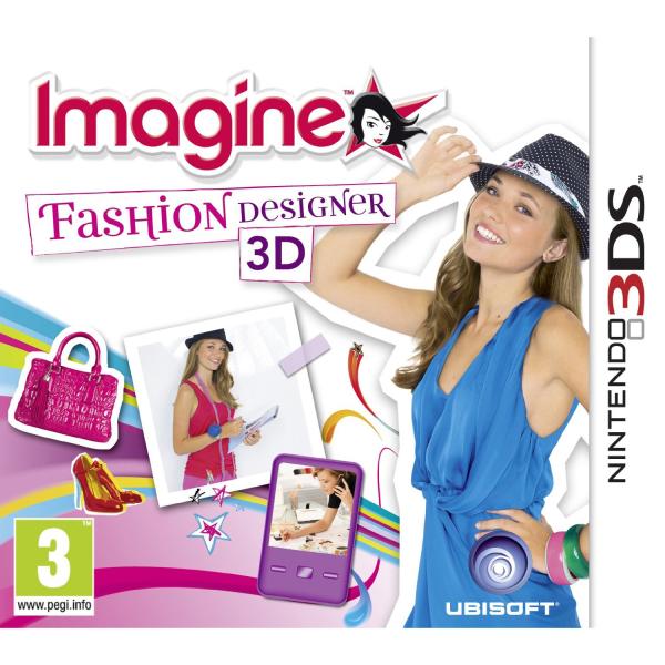 Imagine Fashion World 3d Nintendo 3ds Zavvi