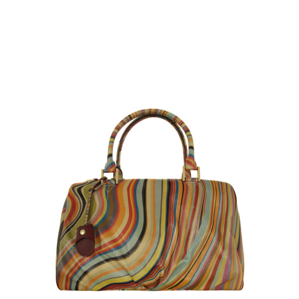 Paul Smith Accessories Women S 2909 V26 Large Aqua Multi Bag Swirl Image 1