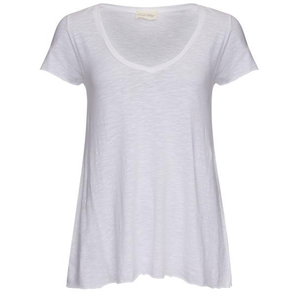American Vintage Women's Slubby T-Shirt - White