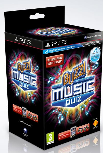 Buzz The Ultimate Music Quiz With Buzzers Playstation