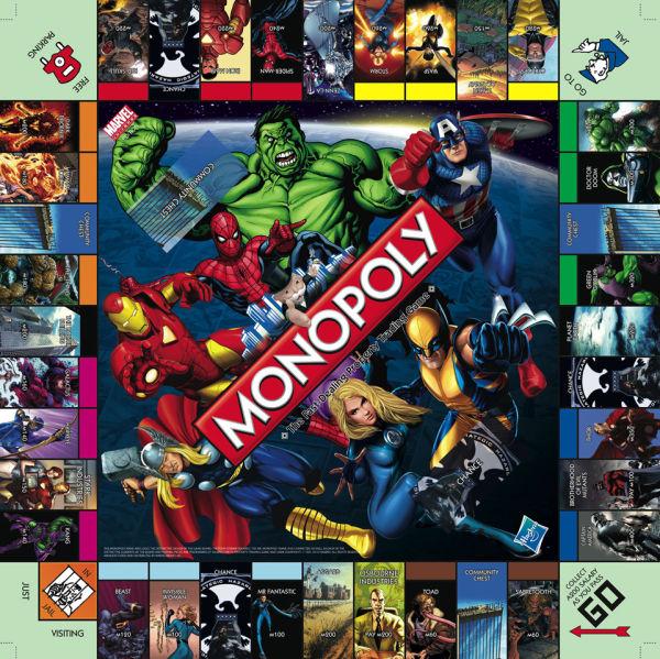 Marvel Monopoly Toys   TheHut.com