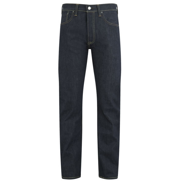 f2a6ca6e9b49 Levi s Selvedge 501 Original Long Day Denim Jeans mit taillierter Passform  für Männer - Dark Indigo