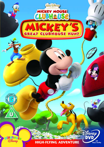 Disneys Mickey Mouse Clubhouse Mickeys Great Clubhouse