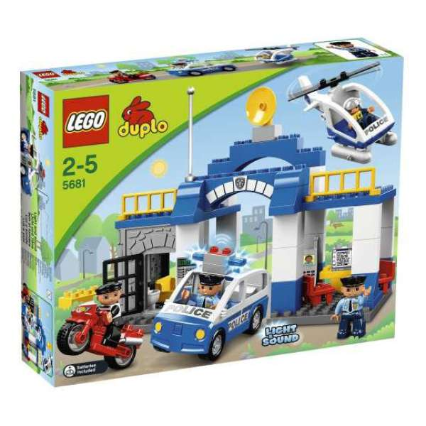 Lego Duplo Police Station 5681 Toys Thehut Com