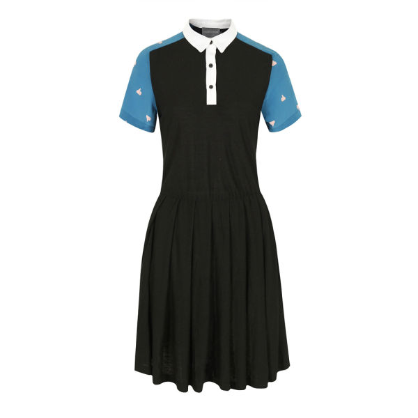 Antipodium Women's Playpal Double Digits Dress - Black/Blue