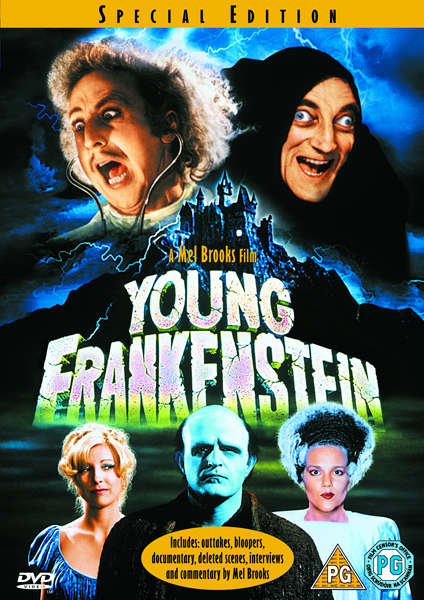 Young Frankenstein Dvd Zavvi